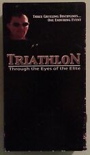 TRIATHLON THROUGH THE EYES OF THE ELITE   VHS VIDEOTAPE