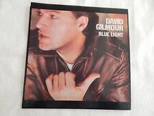 "David Gilmour ""Blue Light"" PICTURE SLEEVE! MINT! PERFECT!!"