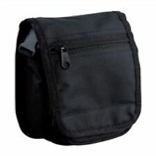 CAMERA & DOCUMENT SECURITY CASE WITH ZIPPED SECTION, BELT LOOP & SHOULDER STRAP