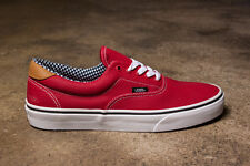 Vans Off the Wall Era 59 Waxed Canvas Chili Pepper Red Mens 10 Shoes Sk8