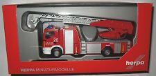 Herpa 092272  MAN TGM Metz Drehleiter L32 Flughafen Feuerwehr Köln-Bonn 1:87 HO