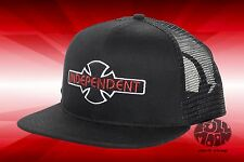 New Independent Skateboard OGBC Black Mens Snapback Trucker Cap Hat