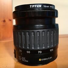 Canon Zoom Lens EF 35-80mm 1:4-5.6 52mm Tiffen UV Protector Filter 0.85m/2.8 SLR