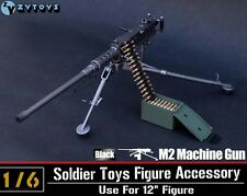 1/6 ZY Toys Model US Army Browning M2 Machine Gun,Cal. .50, M2HB,Flexible Figure