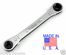 Wilde Tool Square Air Conditioning Refrigeration AC Ratchet Wrench MADE IN USA
