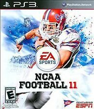 PS3 NCAA Football 11 Video Game 720p HD Ultimate College Playing Experience EA