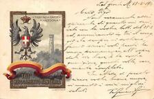 Z543) WW1 161 REGGIMENTO FANTERIA BRIGATA IVREA. VIAGGIATA NEL 1918 CON P.M.