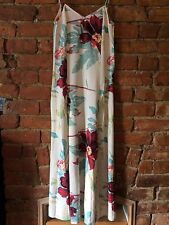 ASOS PETITE Floral Cami Strap Maxi Dress Thigh Split  SIZE 10 (fits 8) BNWT