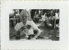 PHOTO ANCIENNE - VINTAGE SNAPSHOT - ANIMAL CHAT CHATON DRÔLE - CAT FUNNY 1950