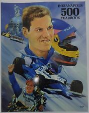 1995 Indianapolis 500 Yearbook Hungness Jacques Villeneuve Team Green Corvette