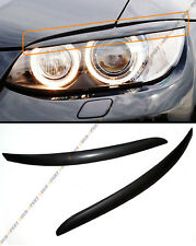 ABS HEADLIGHT COVER EYELID EYE LID FOR 08-2012 BMW E92 335IS 335XI COUPE 2DR
