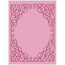 SCROLLWORK Embossing Folder For Cricut Cuttlebug Die Cut Embossing Machine