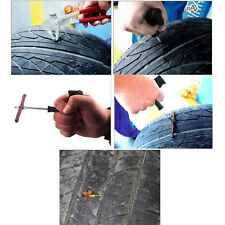 Hot Car Bike Auto tubeless Tire Repair Kit Tyre Plug Puncture Tool 6pcs per set