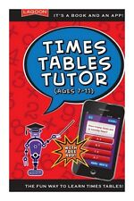 Lagoon Games Q Whizz Book Times Tables Tutor Maths Educational Quiz Book & App