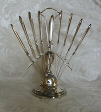 Set 12 coltellini con supporto Swedish Art Deco 12 Dessert Knives with Stand