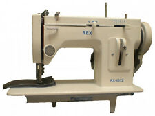 Rex RX607Z  Zig-Zag and Straight Stitch Portable Walking Foot Sewing Machine
