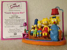 SIMPSONS HAMILTON SCULPTURE COUCH GAGS COUCH REVERSE LIMITED EDITION FIGURE NEW