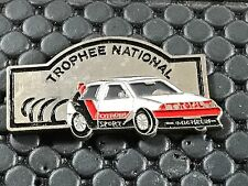PINS PIN BADGE CAR CITROEN AX TROPHEE TOTAL MICHELIN