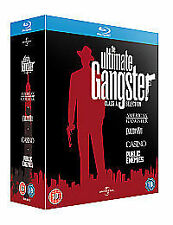 ULTIMATE GANGSTER 5 MOVIE COLLECTION BLU RAY BOX SET SCARFACE CASINO CARLITO WAY