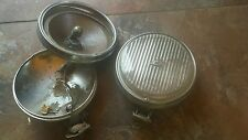 MERCEDES BMW 2002 1600 PORSCHE 356 230 250 280 SL HELLA FOG USED PART LIGHTS