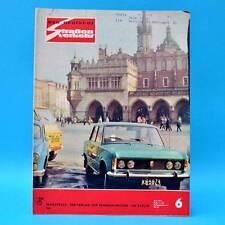 Der Deutsche Straßenverkehr 6/1974 Trabant Saporoshez Wolga MZ Masuren Reifen C