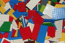 LEGO 25 Piastre colorato giallo rosso blu fuori verde 4x4 Piastre costruzione