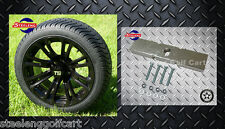 "CLUB CAR DS GOLF CART LIFT KIT + 14"" WHEELS and 205/30-14 LOW PROFILE TIRES"