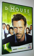 DVD DR. HOUSE VOLUME 2 - SAISON 1 : EPISODES 5 à 8 - 2004/2005
