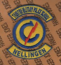 US Army Theatre Military Police School Constabulary Nellingen Germany patch tab