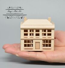 1:144 Unpainted Dollhouse / Dollhouse Miniatures/ Dollhouse Kit AZ T8457