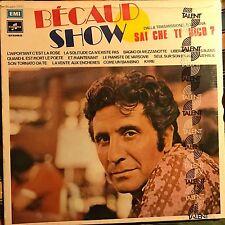 GILBERT BECAUD • Becaud Show • VINILE LP • NUOVO SIGILLATO
