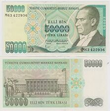 TURCHIA/TURKEY, 50.000 LIRA L. 1970 FDS / UNC