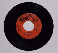 TRADEWINDS 5 It Must Be Love 45 Fox Rec. 421 1966 VG++ ULTRA RARE GARAGE DOO WOP