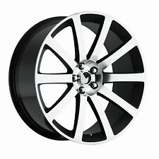 "4) 22"" Chrysler 300 SRT8 Style Blk Machined Charger Challenger Magnum wheels set"