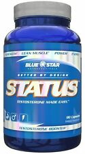 Blue Star Nutraceuticals Status Testosterone Booster, 90 Capsules TEST BOOSTER