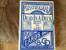 Grateful Dead,Dead In A Deck,CD & Card Box(1989)Streng Limitiert,Sehr Rar,Top!!!