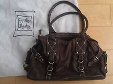 Cynthia Rowley Leather Brown Purse Hand Bag with Dust Bag