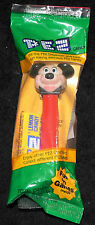 DISNEY RED MICKEY MOUSE PEZ DISPENSER WITH FEET NOS