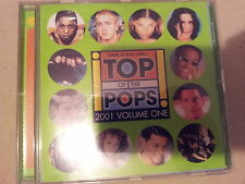 COMPILATION -TOP OF THE POPS 2001 VOLUME ONE. CD.
