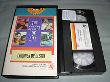 The Secret of Life: Children By Design - 1993 WGBH FFH 4336 VHS Video Tape RARE!