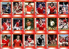 Manchester United FA Cup winners 1977 football trading cards