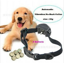 Waterproof Pet Anti Bark Collar Stop Barking & Vibration Collar For S/M Dogs