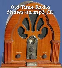 """JOURNEY INTO SPACE 56 Shows Old Time Radio mp3 CD Science Fiction """"BONUS OFFER!"""""""