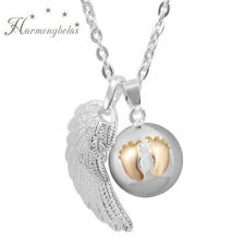 Angel Wing Harmony ball Musical Angel Caller Mexican Bola Pendant Necklace