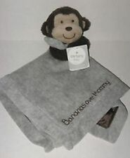 "Carter's Monkey ""Bananas Over Mommy"" Security Blanket with Rattle NWT"