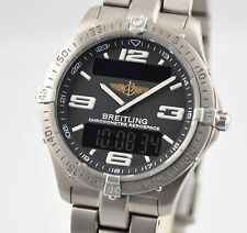 Breitling Chronometre Aerospace Professional Titanium 40mm E75362 Black