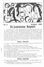 LUNA #5 - 1969 Science Fiction fanzine - Article on Isaac Asimov, book reviews