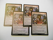 4x MTG Agglomerato Ignobile-Vile Aggregate Magic EDH BFZ Zendikar x4