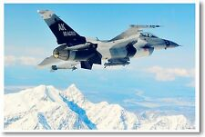 F-16 Fighting Falcon - NEW Air Force Military POSTER