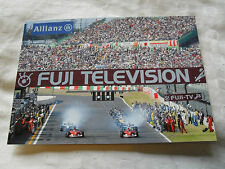 FORMULA 1 PHOTO CARD - 2002 SUZUKA JAPANESE GRAND PRIX - SCHUMACHER FERRARI
